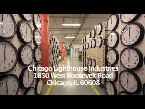 Chicago Lighthouse Industries Clock Factory HD