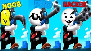 NOOB vs PRO vs HACKER - Johnny Trigger Sniper