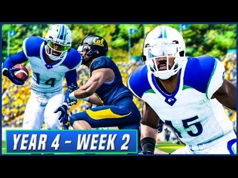 NCAA Football 14 Dynasty Year 4 - Week 2 @ Cal | Ep.56