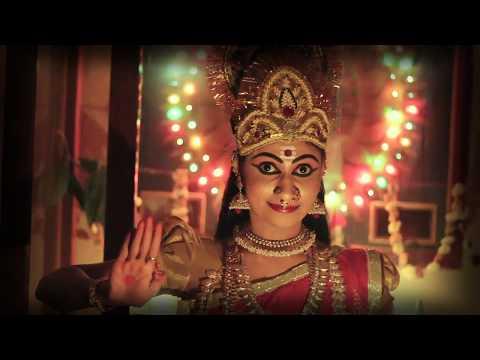 Ayigiri Nandini (Mahishasura Mardhini Stotram) | HD Video | With English/Hindi/Kannada Lyrics
