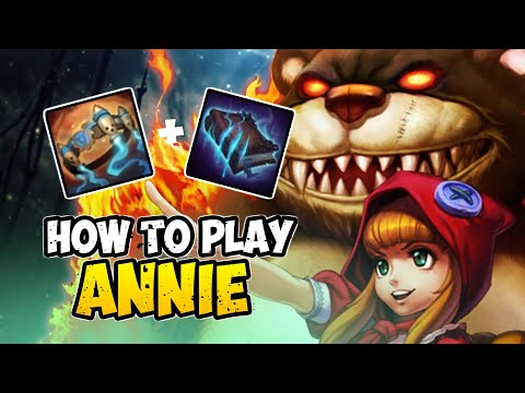How to Play ANNIE MID for Beginners | ANNIE Guide Season 10 | League of Legends