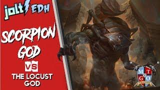 jolt commander the scorpion god vs the locust god