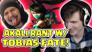 hASHINSHIN RANTING WITH TOBIAS FATE ABOUT AKALI AND MAGES ASSASSINS