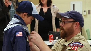 First Openly Transgender Boy Becomes a Boy Scout