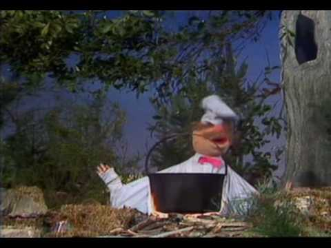The Muppet Show. Swedish Chef. Squirrel Stew (ep 4.01)