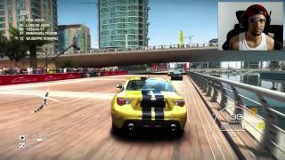 GRID Autosport en Dubái 1080p 60fps Ultra Gameplay Pc