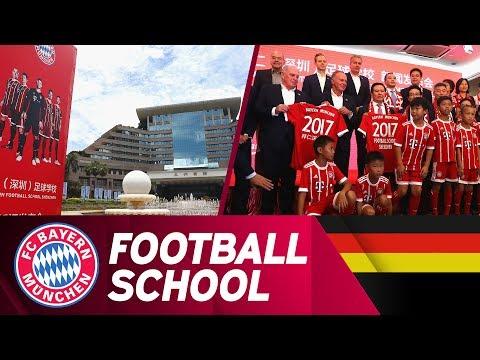 Startschuss für die FC Bayern Football-School in Shenzhen