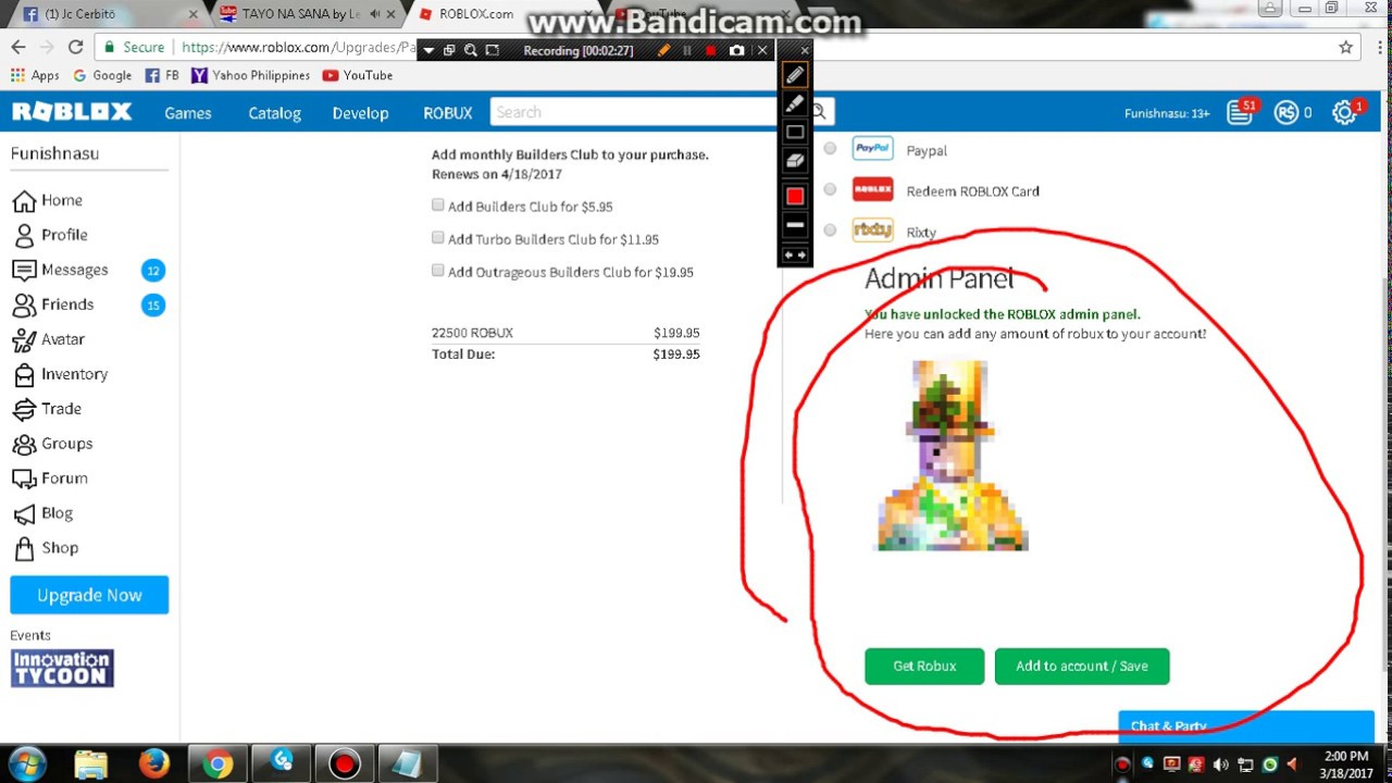 Roblox Free Robux(2017) How To Get