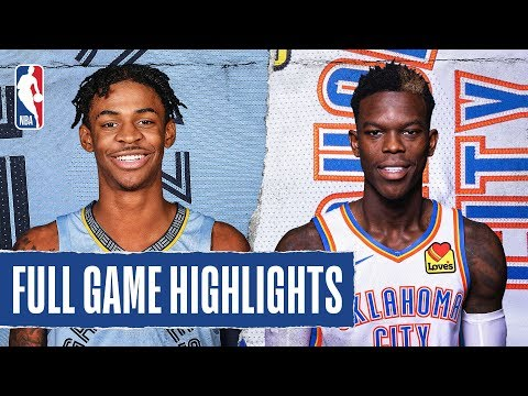 GRIZZLIES At THUNDER | FULL GAME HIGHLIGHTS | December 18, 2019