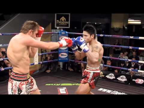 Nonsai Sor Sanyakorn VS Alex Vogel  - Thailand VS Germany 2010