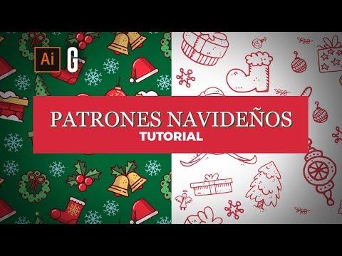 Illustrator Tutorial | Domina la Composición de Patrones Navideños | Creating Christmas Patterns thumbnail