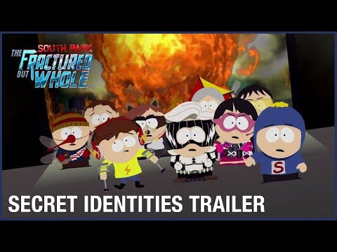 South Park: The Fractured But Whole: Superhero Secret Identities | Official Trailer