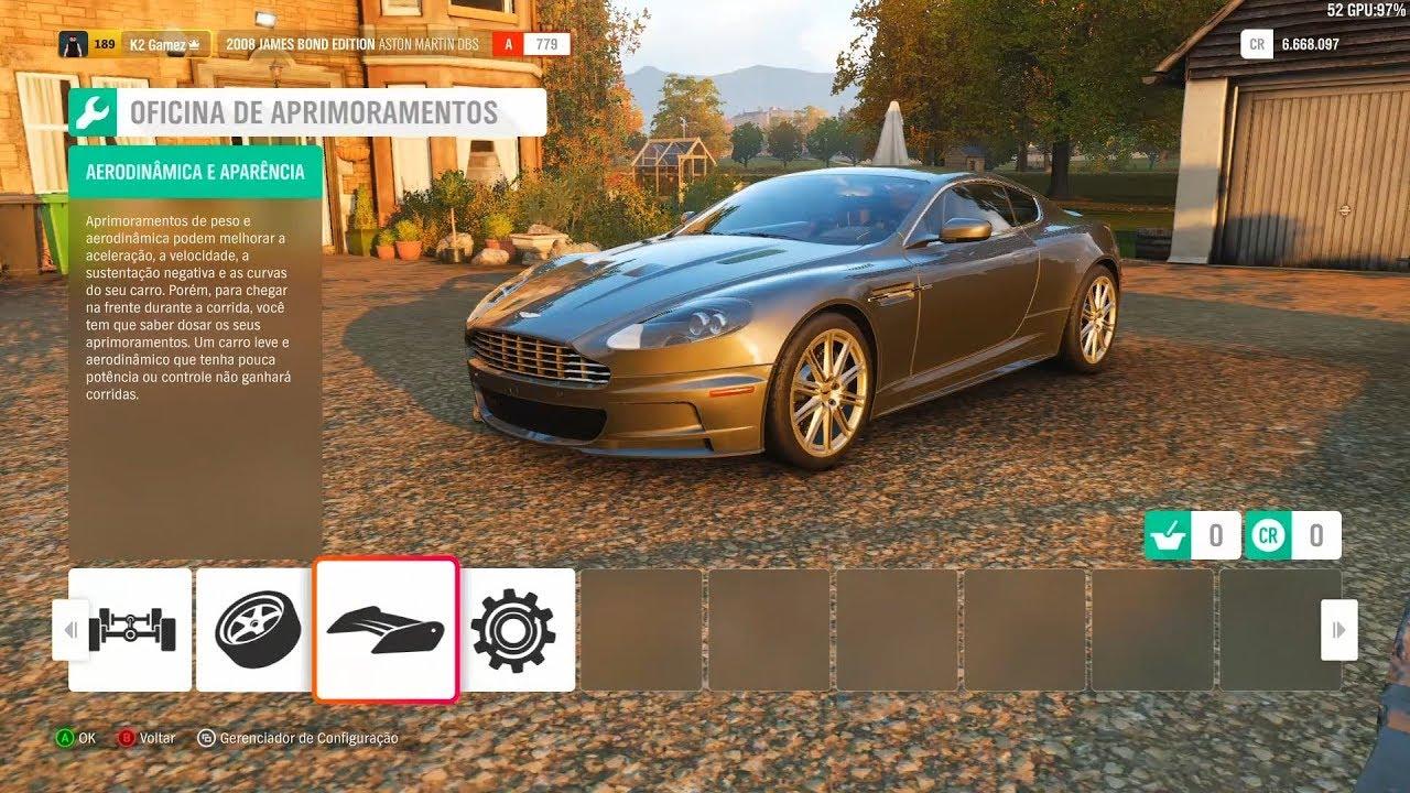 Forza Horizon 4 Dlc 007 James Bond Edition Aston Martin Dbs 2008