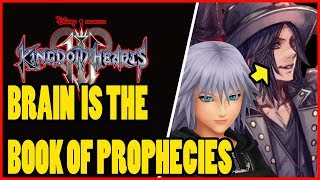 KINGDOM HEARTS 3 BRAIN IS THE BOOK OF PROPHECIES! (KINGDOM HEARTS UNION X)