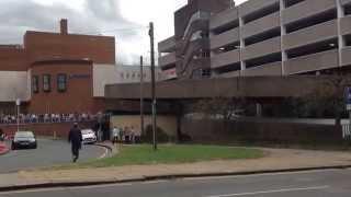 Bomb scare. Mall Sutton Coldfield