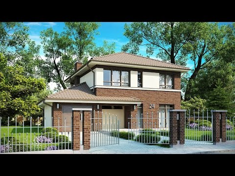 Проекты домов и коттеджей с двумя гаражами