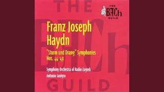 symphony no 49 in f minor la passione i adagio