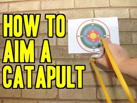 "HOW TO AIM A CATAPULT / SLINGSHOT ""FULL TUTORIAL"" SHOOTING ACCURACY TIPS"