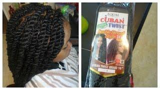 Long Havana Twist | Freetress EQUAL CUBAN Double TWIST Hair *Pics