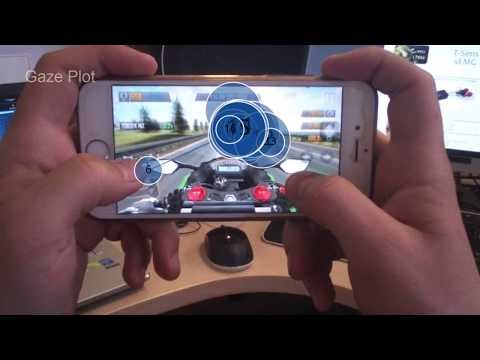 Tobii Pro Eye Tracking in Mobile Game App