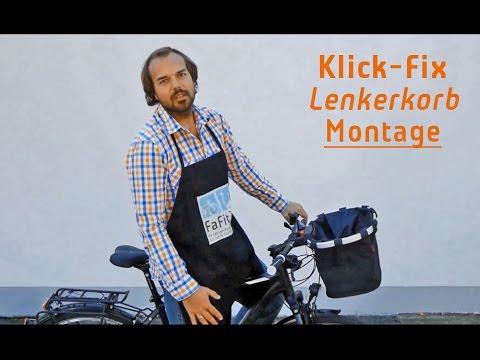 Fahrradkorb Vorne Hinten Mit Klickfix Günstig Online Kaufen