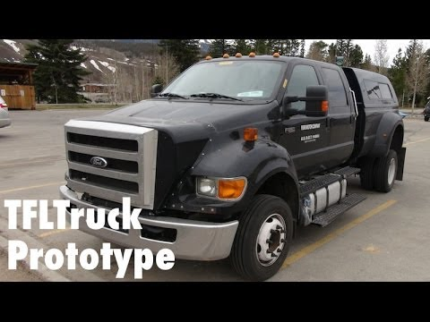 check out the mighty ford f 750 tonka truck the fast lane truck - Mighty Ford F 750 Tonka