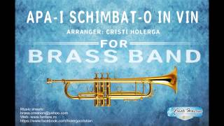 Apa-i schimbat-o in vin (Water Turned Into Wine / Our God) - Brass Band (Aranjament fanfara)