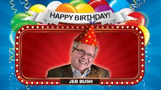 Mark Halperin: It's a Happy Birthday for Jeb Bush