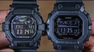 CASIO G-SHOCK GD-350-1B VS G-SHOCK GX-56BB-1A