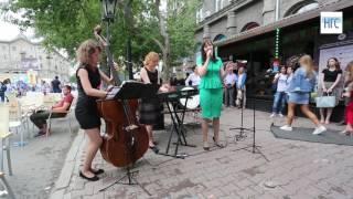 Джаз на улице Ленина