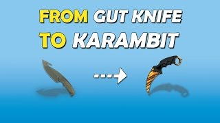 From GUT KNIFE to KARAMBIT Tiger Tooth - CS:GO Trading - Road to a Karambit Knife