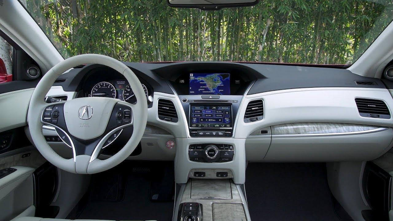 2018 Acura Rlx Sport Hybrid Interior