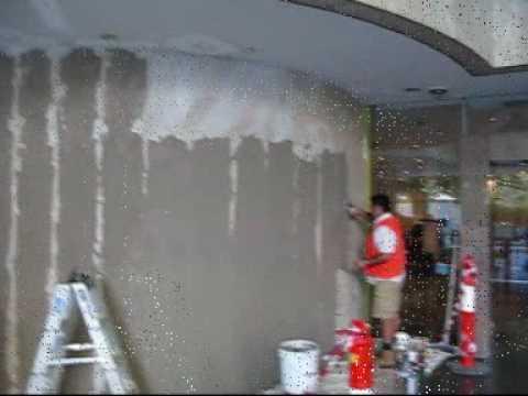 ConcreteArtisans.com: Industrial Cement (wall) Marriot Hotel Sydney