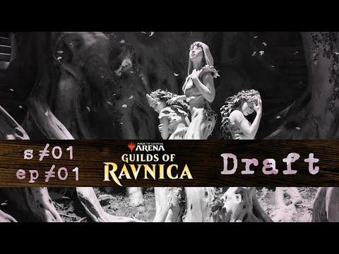 radio Kyoto s01 ep01 | Guilds of Ravnica Draft | MTG Arena