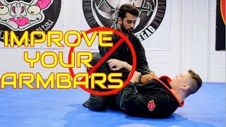 How to Fix the Armbar from Closed Guard (w/subtitles)