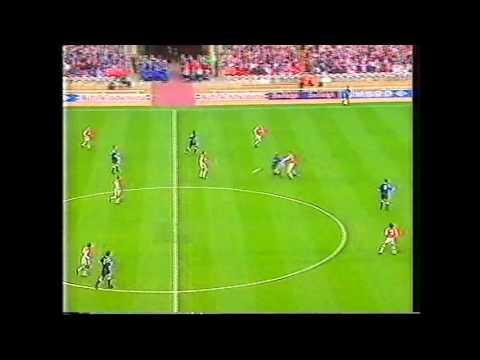 Rotherham united v shrewsbury. Wembley 1996. football league trophy auto windscreens