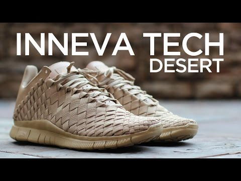 separation shoes 43e40 4990f Closer Look  Nike Free Inneva Woven Tech SP - Desert