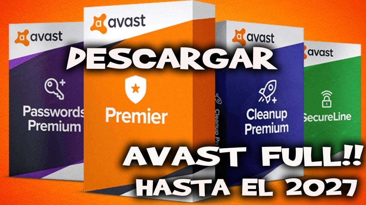 descargar avast premium full español
