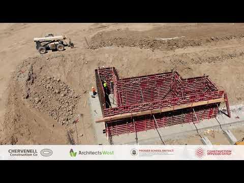 06.10.19 Prosser High School Construction Progress Video