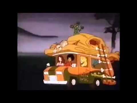Captain Caveman and the teen angels 1970's Cultkidstv Intro