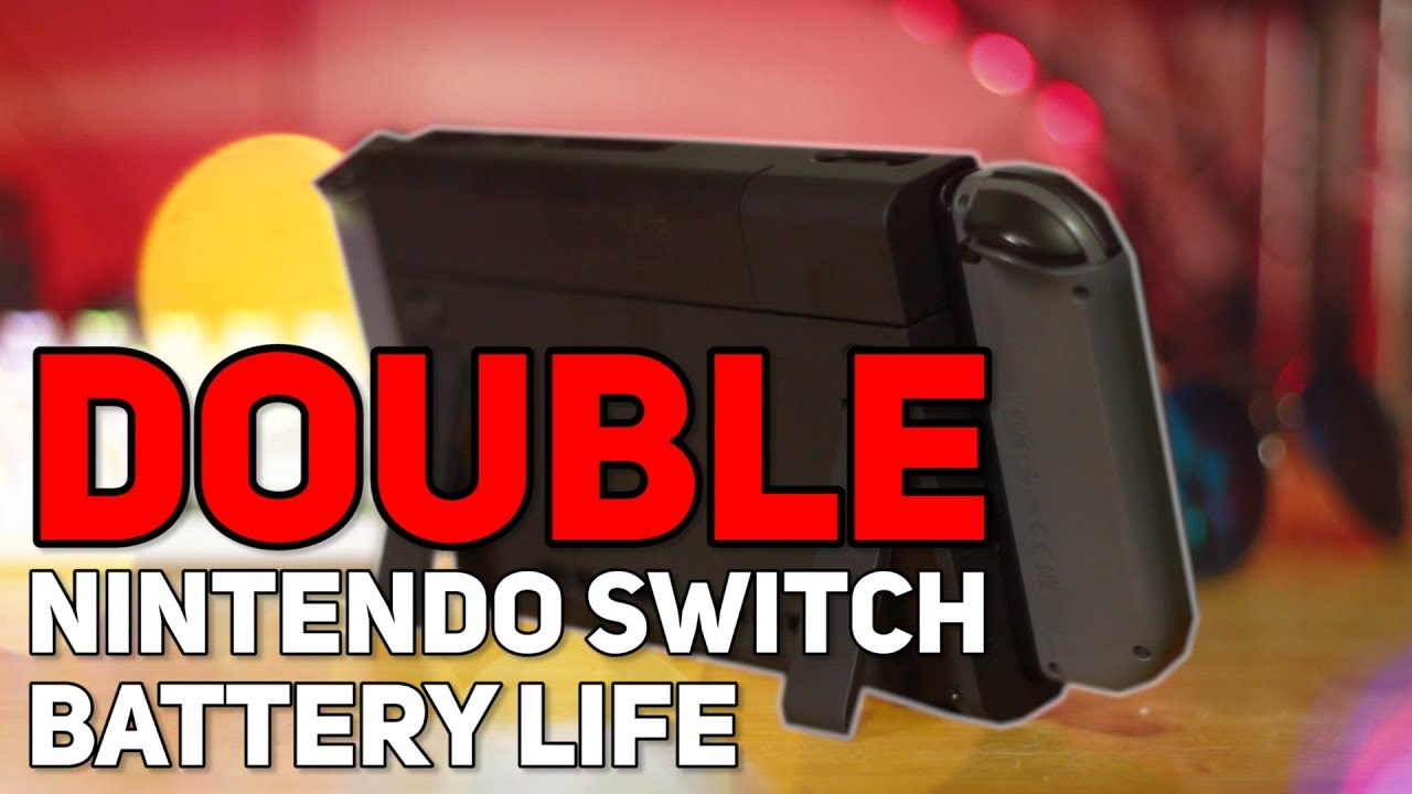 online store 82e5b 47286 DOUBLE Your Switch Battery Life - Antank Battery Charger Case Review