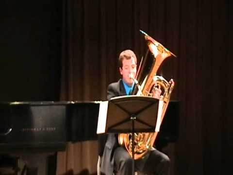 Soliloquy For Contrabass Tuba By Brandon Davis Youtube