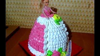 ТОРТ КУКЛА БАРБИ МК Как сделать ТОРТ КУКЛУ БАРБИ своими руками(ТОРТ КУКЛА БАРБИ МК Как сделать ТОРТ КУКЛА БАРБИ своими руками . Кремовые торты. Торты для девочек. Cake Barbie..., 2016-09-11T00:27:16.000Z)