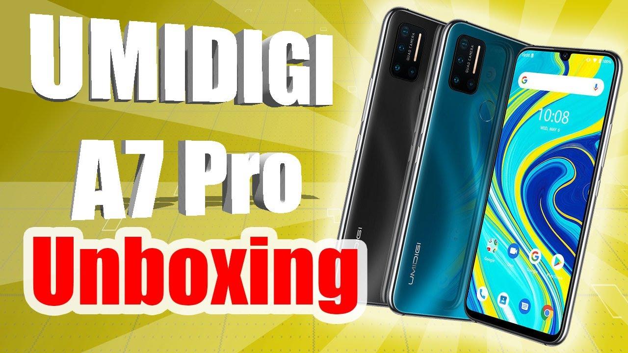 Unboxing UMIDIGI A7 PRO en Español - El sustituto del UMIDIGI A5 PRO