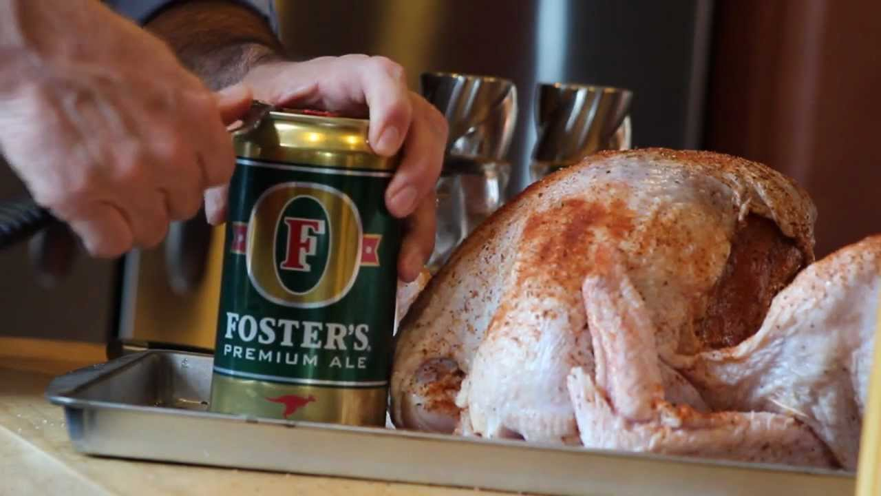Beer Can Turkey How To Youtube