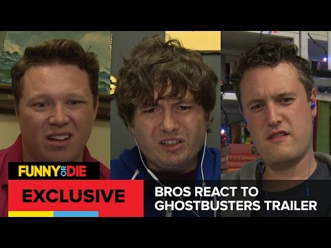 Bros React to Ghostbusters Trailer