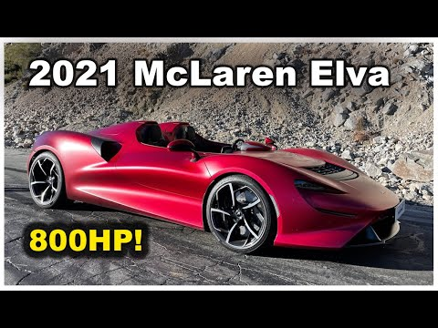 The $2M McLaren Elva Is an 800HP Road-Legal Can-Am Car Without a Windshield - One Take