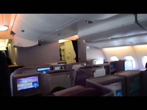 Thai Airways A380 TG676 Bangkok-Tokyo Business Class