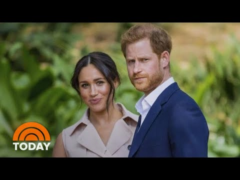 Meghan Markle And Prince Harry Photographed Together For 1st Time Since 'Step Back'   TODAY