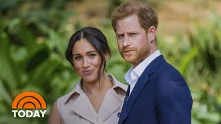 Meghan Markle And Prince Harry Photographed Together For 1st Time Since 'Step Back' | TODAY